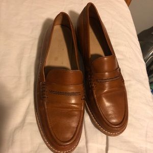 Classic brown loafer (Madewell, 7.5)